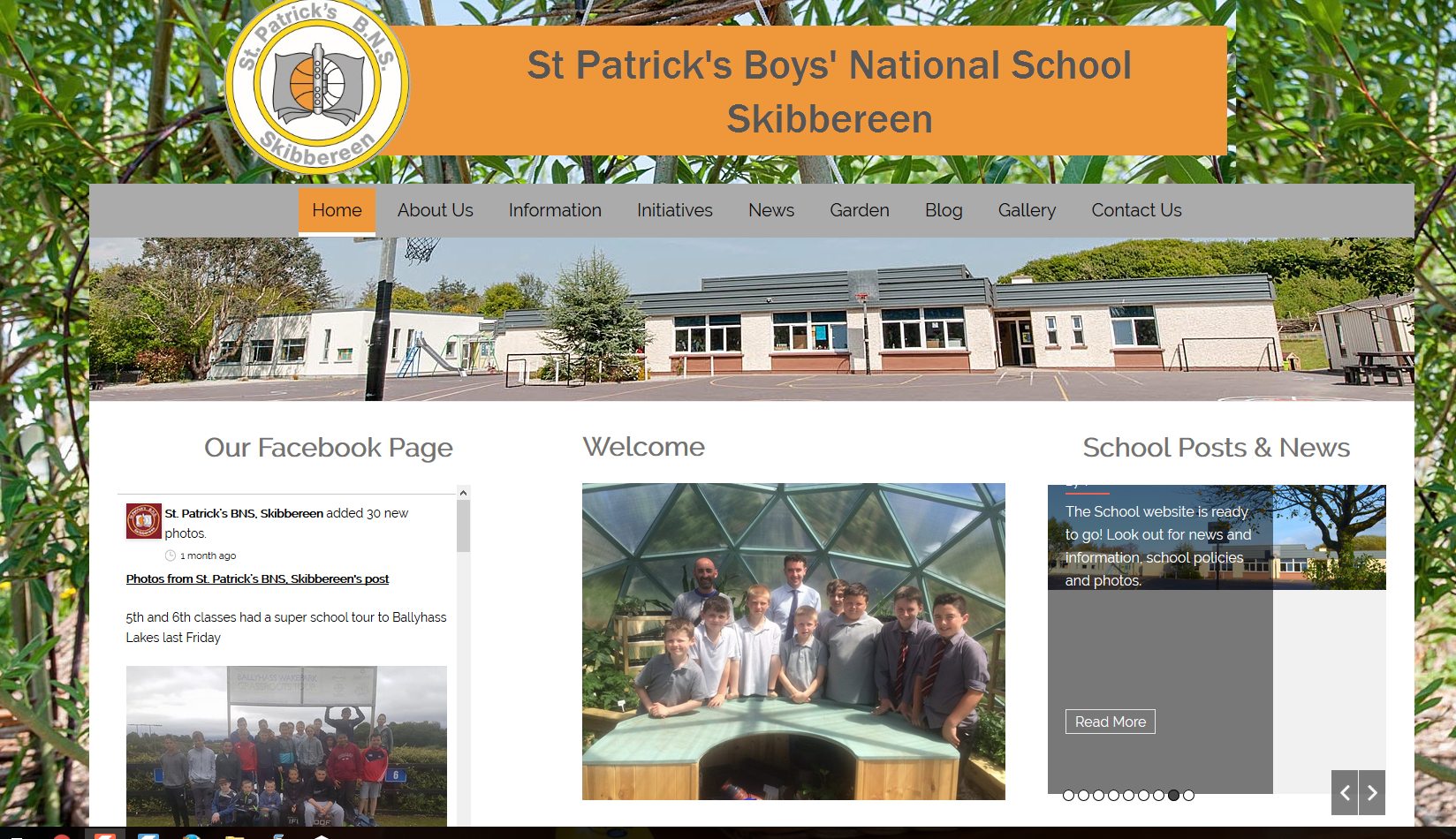 School website launched